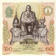 BILLET #  THAILANDE  # PICK 91 # 60  BAHT   #  1987 # NEUF - Thailand