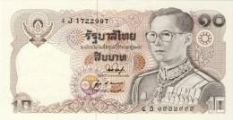 BILLET #  THAILANDE  # PICK 87 # 10  BAHT   #  1980 # NEUF - Thailand