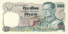 BILLET #  THAILANDE  # PICK 88 # 20  BAHT   #  1981 # NEUF - Tailandia