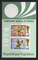 FÚTBOL - TOGO 1974 - Yvert #H74 ** - Precio Cat. €5.75 - Copa Mundial