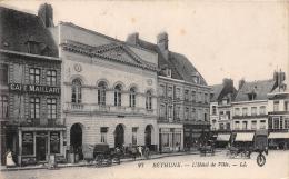 """¤¤  -  27  -  BETHUNE  -  L'Hôtel De Ville   -  Café """" Maillart """"   -  ¤¤ - Bethune"""