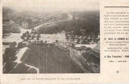 PARIS       Vue De La Porte Maillot Et De Luna-park ( Photographie Par Cerf-volant ) - France
