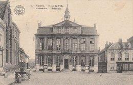 Cpa/pk 1913 Roeselare Roulers Stadhuis Hôtel De Ville Meubels Arthur Van De Kerkhove Bertels - Roeselare