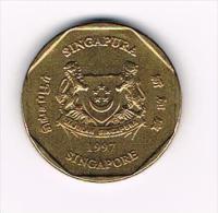 00  SINGAPORE  1 DOLLAR   1997 - Singapour
