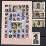 TOGO 1988 - Yvert #1250/53+H275 - MNH ** - Togo (1960-...)