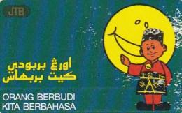 Brunei, BRN-05, Orang Berbudi Kita Berbahasa, 2 Scans.   Please Read - Brunei