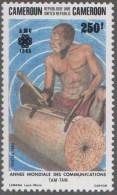 World Telecommunication Day, TAM, Wood Log, Musical Instrument  MNH Cameroun - Cameroun (1960-...)