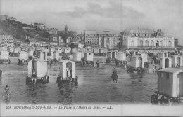 BOULOGNE  SUR MER / HEURE DU BAIN / CABINE     / LOT 786 - Boulogne Sur Mer