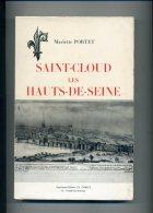 SAINT CLOUD LES HAUTS DE SEINE PAR MARIETTE PORTET 1966 - Ile-de-France