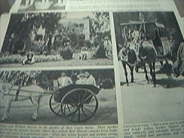 Magazine Picture - Cairo Horse Tram Egypt - 1950-Hoy