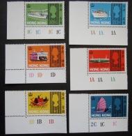 A6866 - Hong Kong - 1968 - Sc. 239-244 - MNH - Hong Kong (1997-...)
