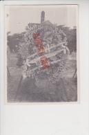 Tonkin Indochine Laos Cambodge Gerbe Mortuaire Officiers Sous Officiers Caporaux 1 Er Régiment Tirailleurs Tonkinois - Guerre, Militaire
