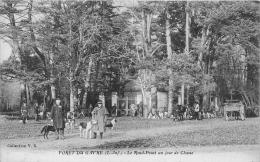 ¤¤  -  LE GAVRE  -  Forêt  -  Le Rond-Point Un Jour De Chasse  -  Chasse à Courre     -  ¤¤ - Le Gavre