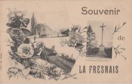 LA  FRESNAIS  -  Souvenir  De  La  Fresnais  ( 3 Vues En Réduction De La Fresnais ). - France