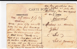 MAROC - 1915 - CARTE POSTALE Du POSTE De DAR BEL HAMRI (TELEGRAPHIE) Pour Le LOT Et GARONNE - Marcophilie (Lettres)
