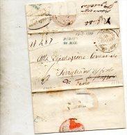 1846 LETTERA CON ANNULLO PRETURA URBANA PADOVA - Italie