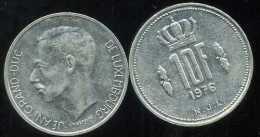 LUXEMBOURG  10 Francs 1976 - Luxemburgo