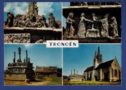 29 SAINT-JEAN-TROLIMON Eglise Et Calvaire 4 Vues - Saint-Jean-Trolimon