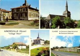 """CP De AINCREVILLE """" Village Fleuri """" . - Verdun"""