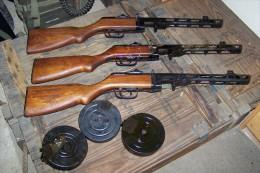 Pistolet Mitrailleur PPSH 41 Russe - Armes Neutralisées