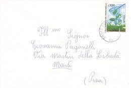 1977 £ 120 Giornata Del Francobollo Isolato Su Partecipazioni - 6. 1946-.. Repubblica