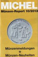 Briefmarken Rundschau MICHEL 10/2013 Neu 5€ New Stamp Of The World Catalogue And Magacine Of Germany ISBN4 194371 105009 - Alemán