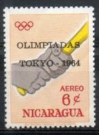 Nicaragua 1964 - Olimpiadi Tokyo Olympic Games Baseball Olympics MNH ** - Nicaragua