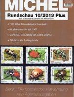 MICHEL Briefmarken Rundschau 10/2013 Plus Neu 5€ New Stamps World Catalogue And Magacine Of Germany ISBN 4 194371 105009 - Libri, Riviste, Fumetti