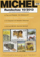 Briefmarken Rundschau MICHEL 10/2013 Neu 5€ New Stamp Of The World Catalogue And Magacine Of Germany ISBN4 194371 105009 - Libri, Riviste, Fumetti