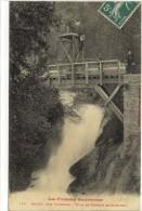 Carte Postale Ancienne Auzat Près Vicdessos - Pont Et Cascade De Caperinta - Frankreich