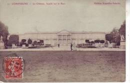 60 COMPIEGNE - (animé) Le Château - Façade Sur Le Parc - D13 52 - Compiegne