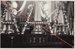 MARBAIS Carte Photo Benediction Cloche De L´église - Villers-la-Ville
