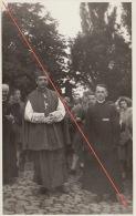 MARBAIS Carte Photo Benediction Cloche De L´église Curé - Villers-la-Ville