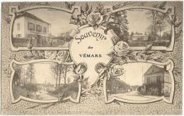 Souvenir De Vémars  Multivues  La Poste  Un Coin De La Place  Entrée Du Village  Les Carneaux   /14961 - Non Classés