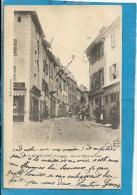 Aveyron- St Geniez D'Olt -Rue De L'Hôtel De Ville. - Frankreich