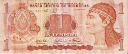 BILLETE DE HONDURAS DE 1 LEMPIRA AÑO 2003 (BANKNOTE) - Honduras