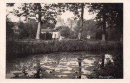 Photo ( Genre Carte Photo ) 18 Blancafort , Vue Du Pays Avec Femmes Au Bord De La Riviere - Autres Communes