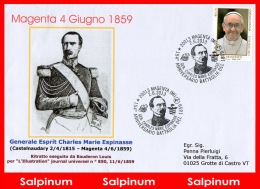 ANNULLO ANNIVERSARIO 154° BATTAGLIA DI MAGENTA - 2011-...: Storia Postale