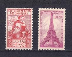 France - YT 428 - 429 Neufs Sans Charnière (MNH) - Unused Stamps