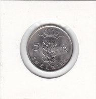5 FRANCS CuNi RAU Baudouin I 1974 FL Qualité+++++++++++++++ - 05. 5 Francs