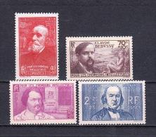 France - YT 436 - 437 - 438 - 439 Neufs Sans Charnière (MNH) - Unused Stamps