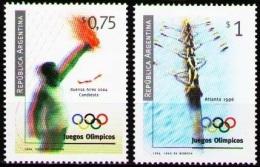 Olympic Games Argentina 1996 #2305/6 Atlanta MNH ** - Ete 1996: Atlanta