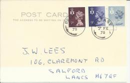 INGLATERRA BELFAST SELLOS REGIONALES MACHIN 1978 - Irlande Du Nord
