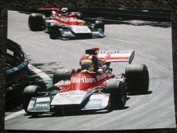 ISO MARLBORO  F1  Pilota  N .GALLI A Montecarlo - Grand Prix / F1