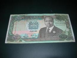 Kenya 200 Shilingi  1990. - Kenya