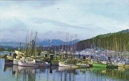 Canada Fishermen's Wharf Graham Island Queen Charlotte City British Columbia - British Columbia