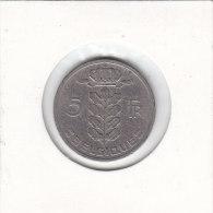 5 FRANCS CuNi RAU Baudouin I 1965  FR - 05. 5 Francs