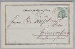 Heimat Liechtenstein Triesenberg Vaduz 1902-05-13 Ankunfts-O Auf Corresp.karte Aus Sulz - Liechtenstein