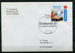 """Germany 2006 Privatpost PTN Post Team Mit DIAKONIE Marke Und Sonderstempel""""PTN-DIAKONIE In Unserer Region """"1 Beleg - Private & Local Mails"""