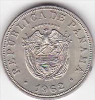 PANAMA. 5 CENTESIMOS 1962.  COPPER-NICKEL . XF/SUP - Panamá